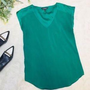Express Emerald Green Top
